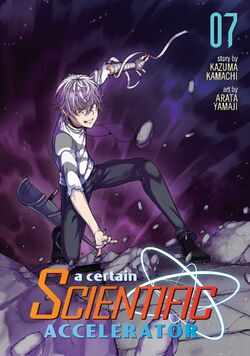 A Certain Scientific Accelerator Manga v07 Cover