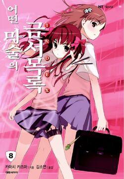 Toaru Majutsu no Index Light Novel v08 Korean cover