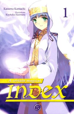 A Certain Magical Index Light Novel v01 French cover