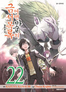A Certain Magical Index Manga v22 Korean cover