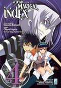 A Certain Magical Index Manga v04 Italian cover