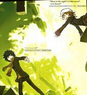 Mikoto reaching out to Touma