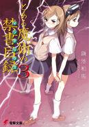Toaru Majutsu no Index Light Novel v03 cover