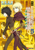 Shinyaku Toaru Majutsu no Index Light Novel v05 cover