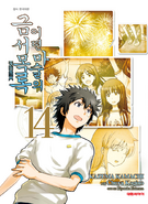 A Certain Magical Index Manga v14 Korean cover