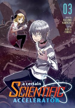 A Certain Scientific Accelerator Manga v03 Cover