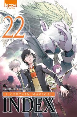 A Certain Magical Index Manga v22 French cover