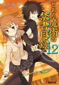 Toaru Majutsu no Index Light Novel v12 cover