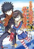 Toaru Majutsu no Index Light Novel v20 cover