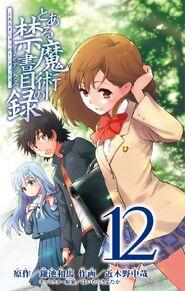 Toaru Majutsu no Index Manga v12 Title Page