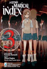 A Certain Magical Index Manga v03 Italian cover