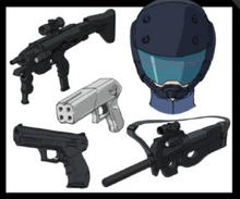 DA's Equipment