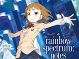 Rainbow spectrum:notes