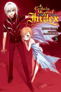 A Certain Magical Index Light Novel v05 cover