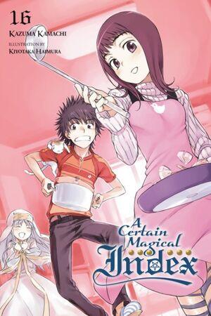 A Certain Magical Index Light Novel v16 cover