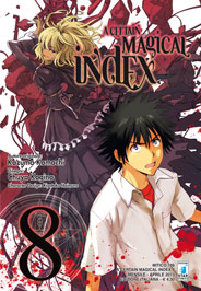 A Certain Magical Index Manga v08 Italian cover