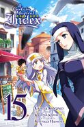 A Certain Magical Index Manga v15 Cover