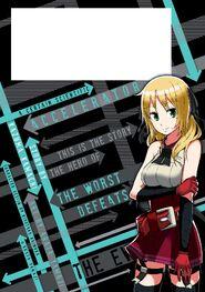 Toaru Kagaku no Accelerator Manga Volume 03 Back Page