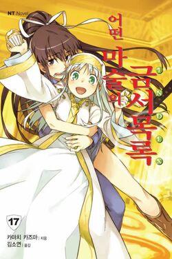 Toaru Majutsu no Index Light Novel v17 Korean cover