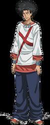 Tatemiya Saiji body (Anime)