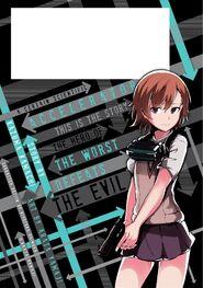 Toaru Kagaku no Accelerator Manga Volume 05 Back Page