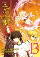 A Certain Magical Index Manga v13 Korean cover