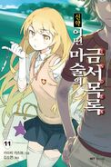 Shinyaku Toaru Majutsu no Index Light Novel v11 Korean cover