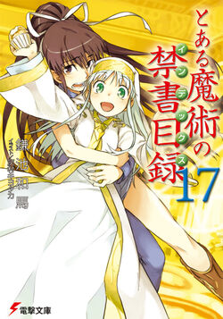 Toaru Majutsu no Index Light Novel v17 cover