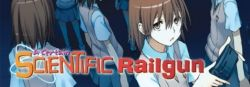 Seven Seas Entertainment Railgun Manga Page (English)