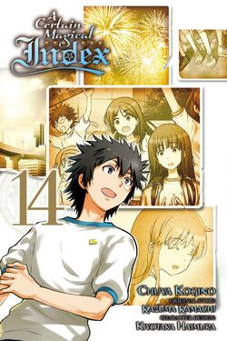 A Certain Magical Index Manga v14 Cover