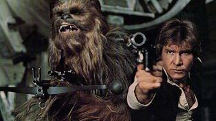 Han chewbacca armed