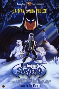 Batman & Mr. Freeze SubZero