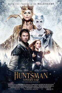 The Huntsman Winter's War2016