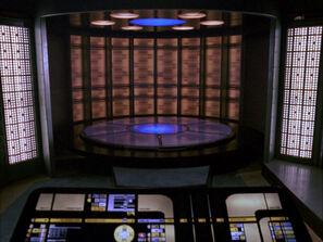 Enterprise-D transporter room