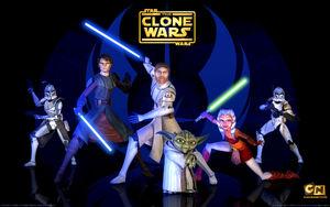 Star Wars Clone Wars tv