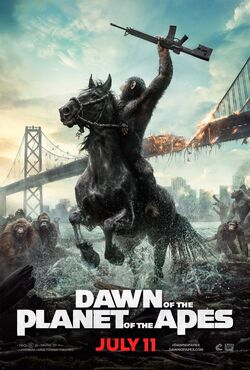 Dawn of the Planet of the Apes2014