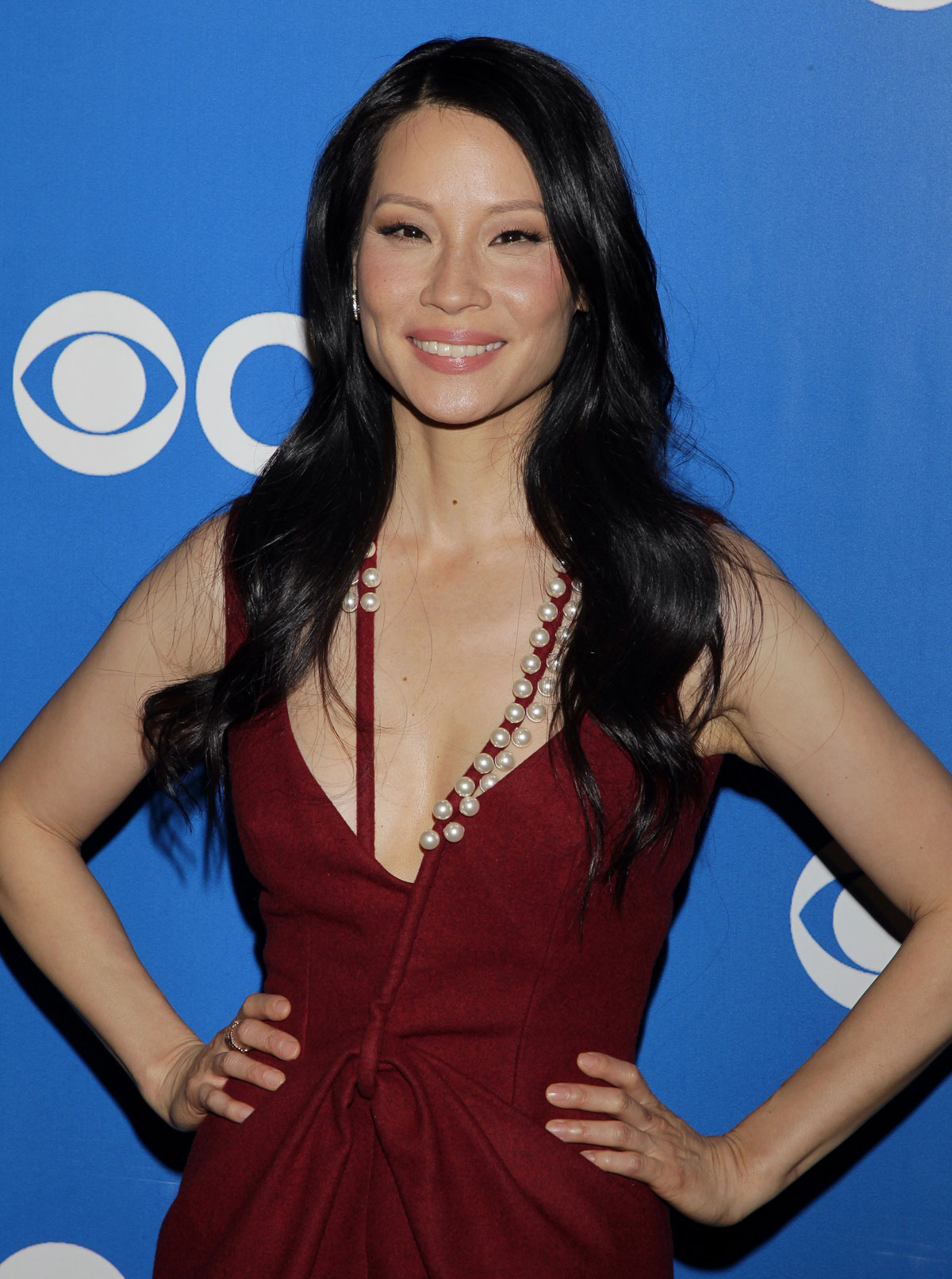 image lucy liu at 2012 cbs upfront in new york movie and tv wiki fandom powered by wikia. Black Bedroom Furniture Sets. Home Design Ideas