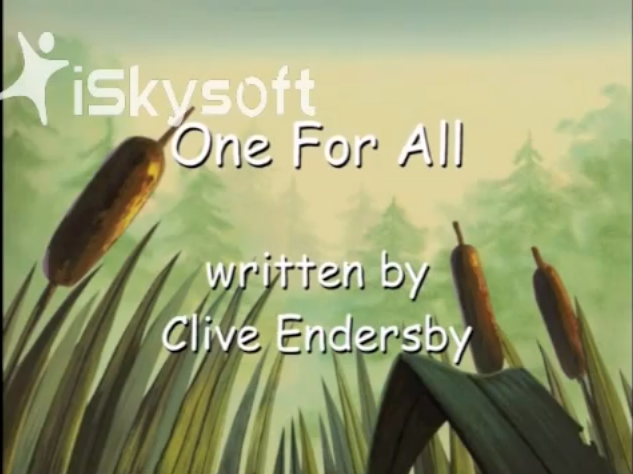 File:One for All title screen.png