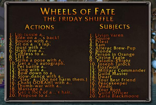 Friday Shuffle