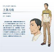 Diseño de Touya Anime