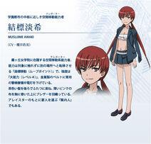 Musujime Awaki Diseño Index anime
