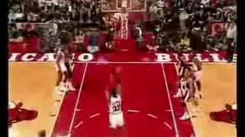 Michael Jordan The Best Dunk of his Life