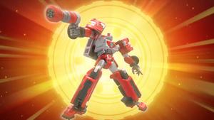 Tobot V Rescue R stockfootage