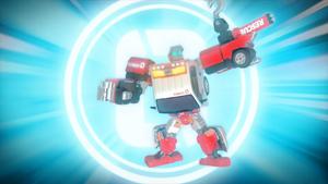Tobot V Rescue Zero stockfootage