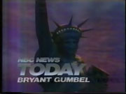 NBC News' Today Video Open From September 1985