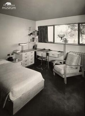 TB Sanitarium patient room 77-13