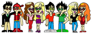 Ian, Brick, Diamond, Katheryn, Clifford, Butch, Kesha & Berserk