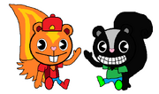 Brick and Butch version Happy Tree Friends