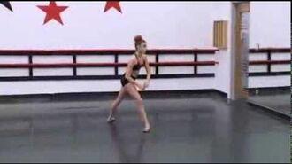 Dance Moms - Kalanis Solo Rehersal 'Swan Solstice'