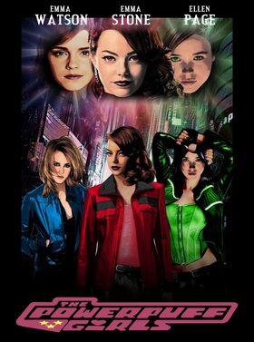 Las chicas superpoderosas pelicula fan poster 2